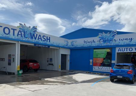 Total Wash, Francis St, 2019